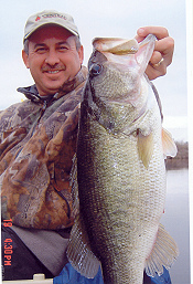 Rodney Smith with a big bass